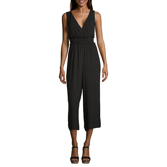 Society And Stitch Sleeveless Jumpsuit-Juniors