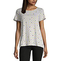 f5193877d5 Women's T-Shirts | V-Neck Shirts for Women | JCPenney