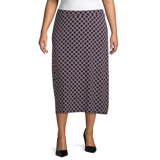 East 5th Midi Skirt - Plus