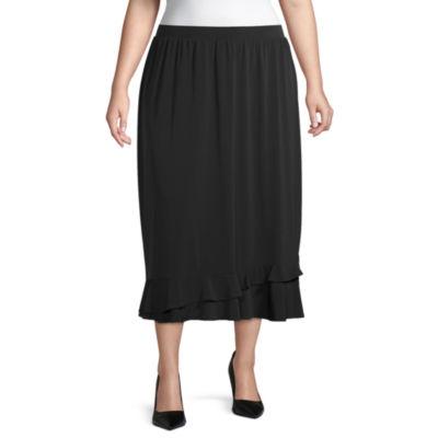 East 5th Flutter Skirt - Plus