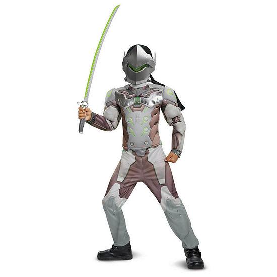 Overwatch Genji Classic Muscle Child Costume Costume