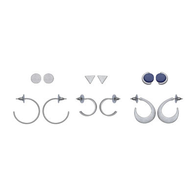 a.n.a. 6 Pair Earring Set