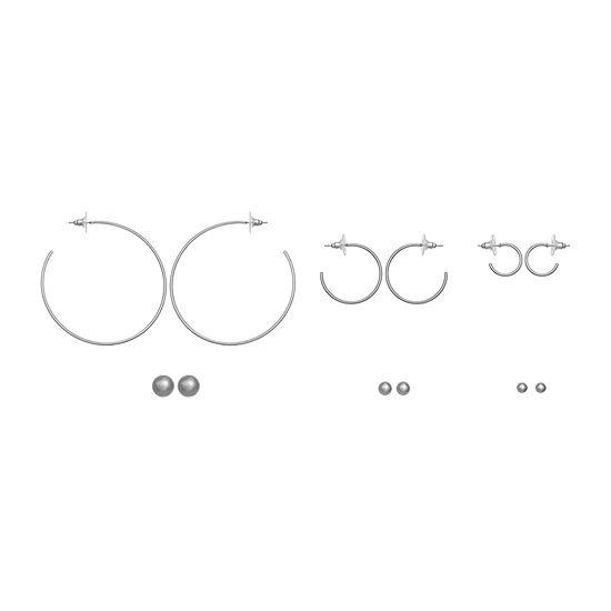 a.n.a 6 Pair Earring Set