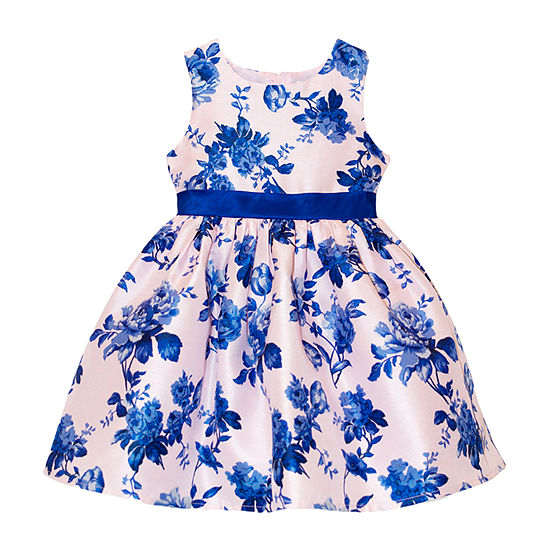 Nannette Baby - Toddler Girls Sleeveless Party Dress
