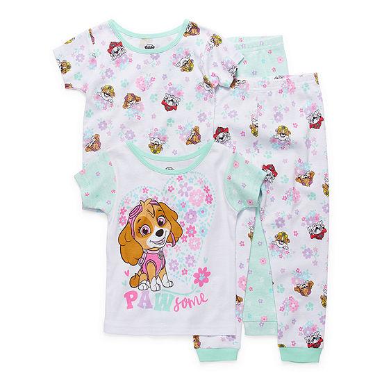 Girls 4-pc. Paw Patrol Pajama Set Toddler