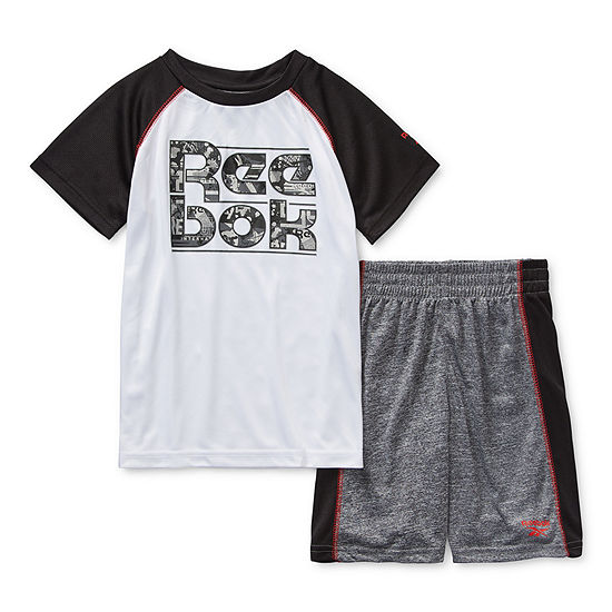Reebok Little Kid Boys 2-pc. Short Set