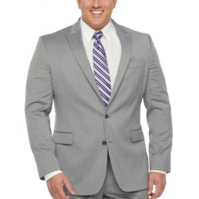Stafford Super Mens Stretch Regular Fit Suit Jacket-Big and Tall