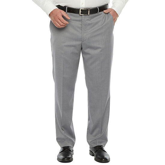 Stafford Super Mens Stretch Regular Fit Suit Pants - Big and Tall