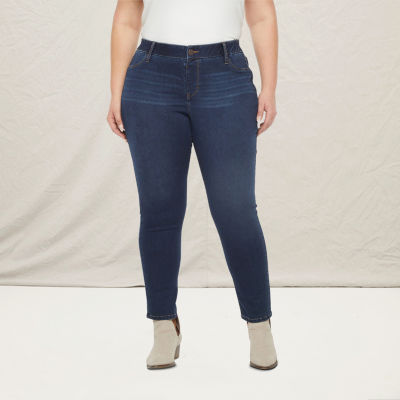 a.n.a-Plus Womens Skinny Stretch Jegging