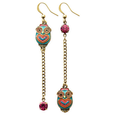 Betseyville® Owl Linear Earrings