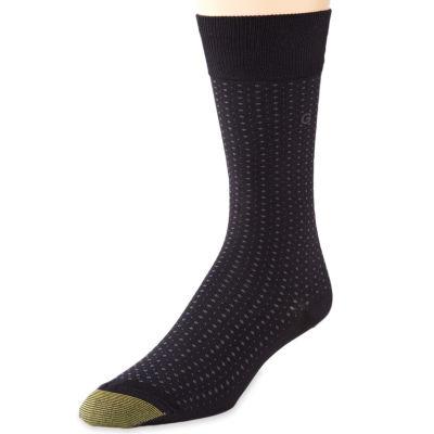 Gold Toe® Dress Microdot Crew Socks