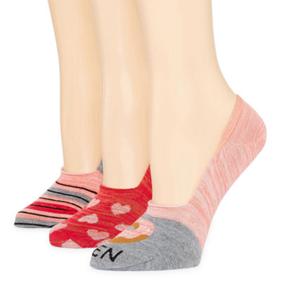 Mixit 3-pc. Knit Liner Socks - Womens