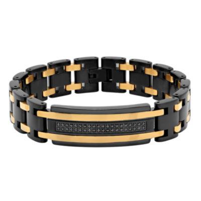 Stainless Steel 8.5 Inch Link Link Bracelet