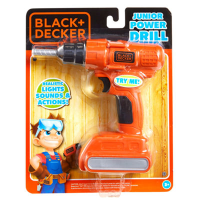 Black+Decker Toy Tools