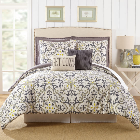 Presidio Square Madrid 7-pc. Comforter Set