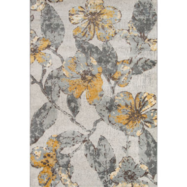 Momeni Luxe Flowers Rectangular Rugs