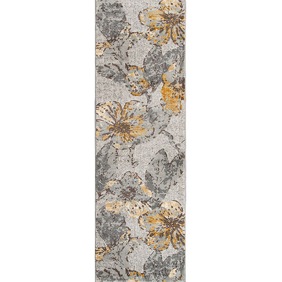 Momeni Luxe Flowers Rectangular Indoor Rugs