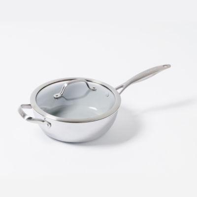 GreenPan Venice Pro 3.5qt Stainless Steel Chefs FryPan