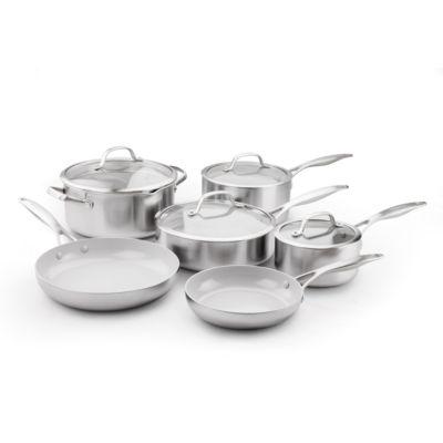 GreenPan Venice Pro 10-pc. Stainless Steel Cookware Set