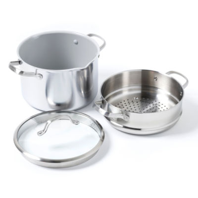 GreenPan Venice Pro 3-pc. Stainless Steel Stockpot