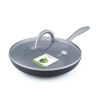 """GreenPan Lima 12"""" Hard Anodized Non-Stick Frying Pan"""