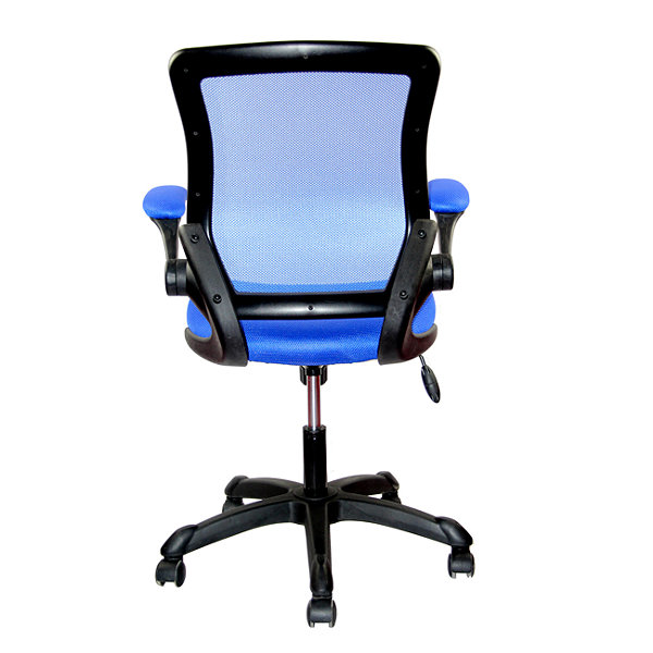 Techni Mobili Mesh Task With Flip Up Arms Office Chair