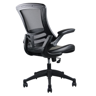 Techni Mobili Stylish Mid Back With Adjustable Arms Office Chair