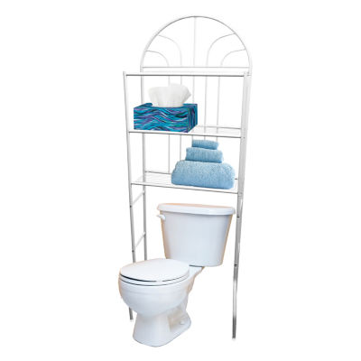 Home Basics Over Toilet Storage