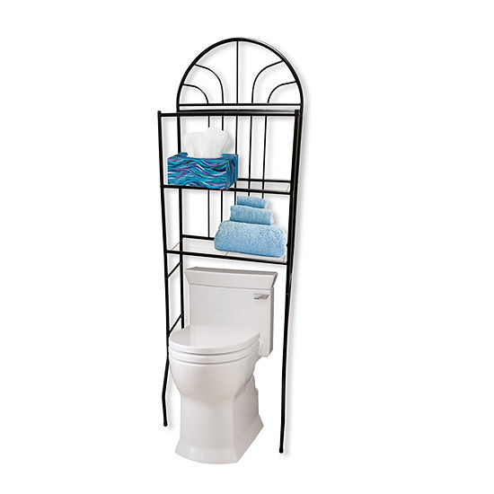 Home Basics Over Toilet Storage