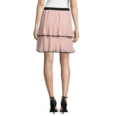 Worthington Tiered Pleated Skirt