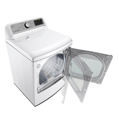LG ENERGY STAR® 7.3 cu.ft. Super Capacity Smart Wi-Fi Enabled Electric Dryer