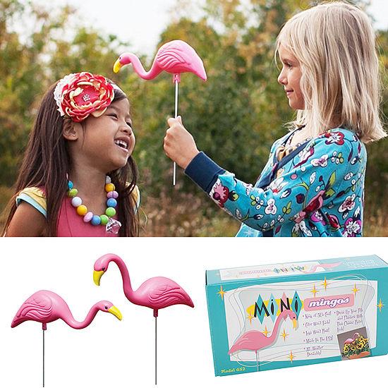 Bloem Mini Mingo Flamingo Garden 2 Pack Yard Stake