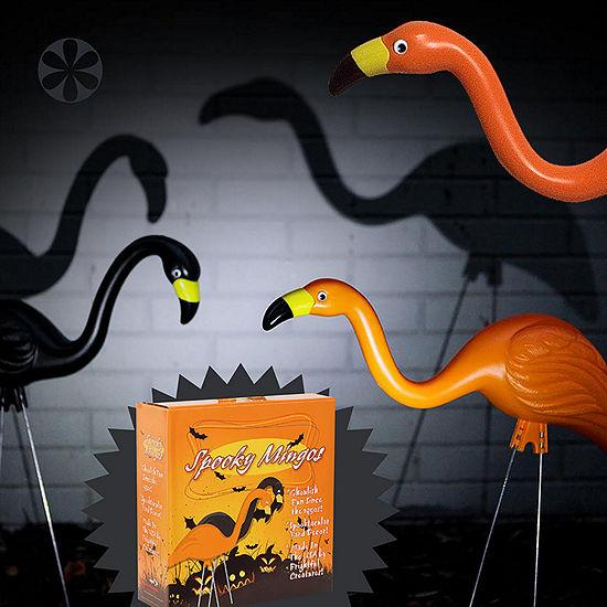 Bloem Spooky Flamingo Halloween 2 Pack Yard Stake