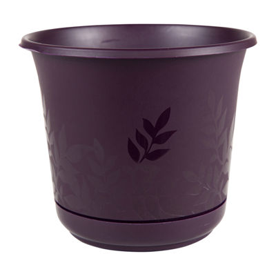 "Bloem Freesia 6"" Planter with Saucer"""