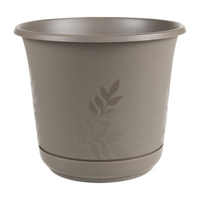 "Bloem Freesia 16"" Planter with Saucer"""