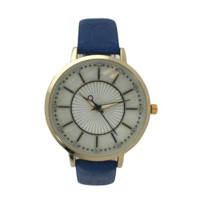 Olivia Pratt Unisex Blue Bracelet Watch-D60021blue
