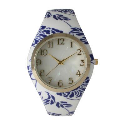 Olivia Pratt Unisex Blue Bracelet Watch-14025bluewhite