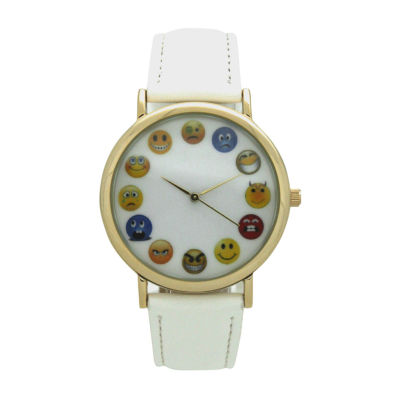 Olivia Pratt Unisex White Strap Watch-17477white