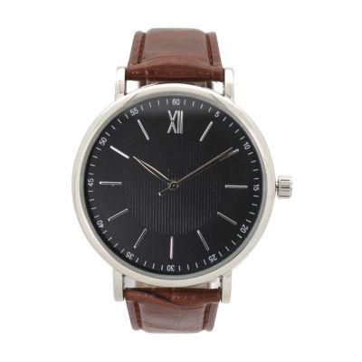 Olivia Pratt Clockwork Unisex Brown Bracelet Watch-8920brown