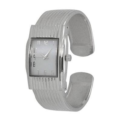 Olivia Pratt Unisex Silver Tone Bracelet Watch-A916781silver