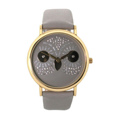 Olivia Pratt Owl Unisex Gray Bracelet Watch-15525grey