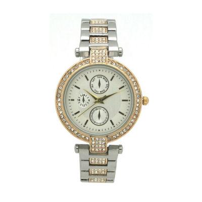 Olivia Pratt Unisex Two Tone Strap Watch-16852twotone
