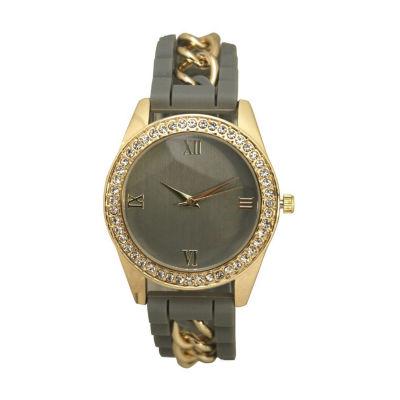 Olivia Pratt Unisex Gray Bracelet Watch-B80005grey