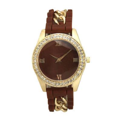 Olivia Pratt Unisex Red Bracelet Watch-B80005burgundy