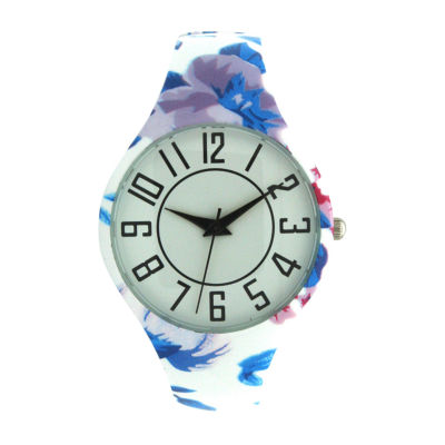 Olivia Pratt Unisex Blue Bracelet Watch-H10054bluepurple