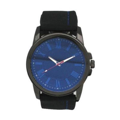 Olivia Pratt Unisex Black Bracelet Watch-26800blackblue