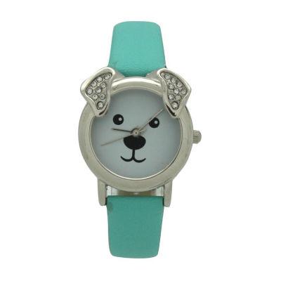 Olivia Pratt Dog Unisex Black Strap Watch-H10046mint