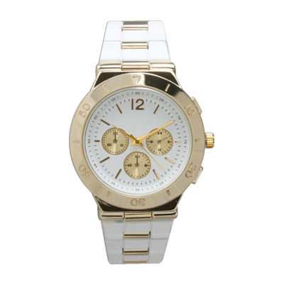 Olivia Pratt Unisex Black Strap Watch-15098white