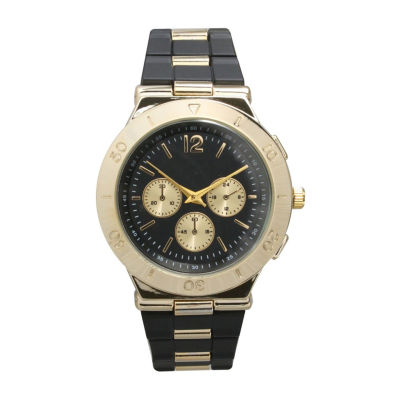 Olivia Pratt Unisex Pink Strap Watch-15098black