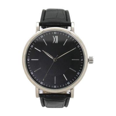 Olivia Pratt Anchor Unisex Black Bracelet Watch-8920black